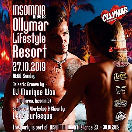 Party Insomnia meets Ollymar - Sonntag, 27. Oktober 2019