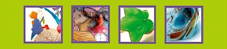 Frühlingsintermezzo Schmuck - Objekte - Collagen - Assemblagen